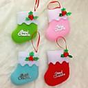 10cm božićne čarape za božićni party dekoracija 6pcs