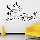 静物ウォールステッカーコーヒーカップパターン40センチメートルのx 60センチメートルjiubai™ウォールステッカー