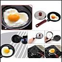 ve tvaru srdce mini non-stick vejce smažení smažený pánev omeleta