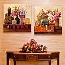 パーソナライズされた電子home®キャンバス印刷2の仏の30x30cmの40x40cmの60x60cm枠キャンバス絵画のセット