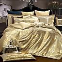 4ピースコットン王室スタイルジャカード布団カバーセット