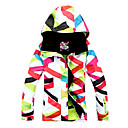 Dámské Bundy na lyže/snowboard Dámská bunda Zimní bunda Lyže Brusle Snowboard Sněhové sportyVoděodolný Prodyšné Zahřívací Větruvzdorné