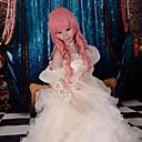 Inspirirana Kod Gease Eufemija Li Britannia Anime Cosplay nošnje Dresses Kolaž Bijela Bez rukava Haljina / Ogrlice / Rukavi