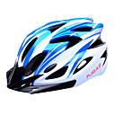 fjqxz 18 otvory eps + pc modré a bílé integrálně tvarovaný na kole helmu (56 až 63 cm)