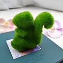 slatka zelena umjetna trava Vjeverica za automobil i uređenje doma