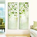 e-HOME® roztažený vedl na plátně umění květina blesku účinek vedl sadu 2