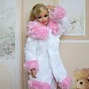 Ležérní Šaty Pro Barbie Doll Růžová Pro Dívka je Doll Toy