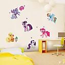 Zvířata Samolepky na zeď Samolepky na stěnu Ozdobné samolepky na zeď,# Materiál Snímatelné Home dekorace Lepicí obraz na stěnu