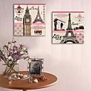 E-home® pruži platnu si vazu i europske arhitekture ukrasne slikarstvo set 2