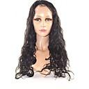 20インチ100パーセントインドの人間の髪の毛の自然の波の完全なレースのかつら