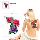 1 kom vodootporna boja figura tri cvjetni uzorak tattoo naljepnice