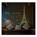 svjetlosni zid naljepnice zidne naljepnice, stil voli u Parizu PVC zidne naljepnice