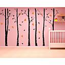 nástěnné nálepky na stěnu, 6 velký strom s ptáky zdi nálepkou