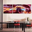 e-HOME® plátně umění abstraktní krajiny dekorace malířské sadu 3