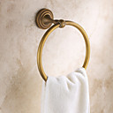 starinski starinski bakra zidni ručnik prstenovi