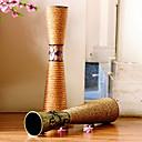 """23.6 """"Hモダンなスタイルの鉄の花瓶円筒形の花瓶の花のパターン"""