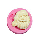 Božićni tema silikonski kalup silikonska Djed Mraz bombona kalupa za Fondant fimo desni tijesto&sapun čokolada