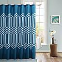 sprchový závěs moderní blue print vody odporové