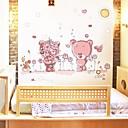 zidne naljepnice zidne naljepnice, lijepe romantične medvjeda PVC zidne naljepnice