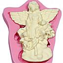 Angel cvijet silikonska sapun plijesni kolač ukrašavanja alata Fondant fimo desni tijesto&čokolada