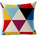 moderní styl barevné geometrické vzorované bavlna / len dekorativní polštář kryt