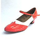 Dámské - Taneční boty - Šicí boty - Koženka - Masivní podpatek
