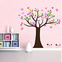 lijepo živopisnom stablo za dom dekor zid decal zooyoo5084 dekorativne prijenosnih PVC zidne naljepnice