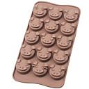 ピギープラチナシリコーンチョコレートモールド