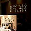 中国の書道の壁のステッカー