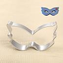 マスククッキーカッターハロウィーン仮装舞踏会パーティービスケットのパン型ステンレス鋼のDIYベーキングツール