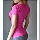 Žene Kratki rukav Trčanje T-majica Majice Prozračnost Quick dry Anatomski dizajn Proljeće Ljeto Sportska odjeća Yoga SposobnostElastan