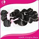 人間の髪編む ブラジリアンヘア ルーズウェーブ 3個 ヘア織り