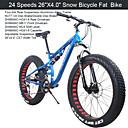 Mountain Bike Biciklizam 24 Brzina 26 inča/700CC 40mm Muškarci SHIMANO 65-8 Dvostruka disk kočnica Vilica s oprugomStražnja suspenzija /