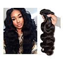 """3ks / lot 8 """"-34"""" Brazilský nezpracované panenské vlasy tělo vlna 300g # 1b lidské vlasy útku prodloužení vlasů"""