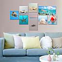 Vizualni STAR® 8 komada suvremene umjetnosti podvodni ocean more svijet rakova giclee platnu umjetnosti plaža Seascape spremni objesiti