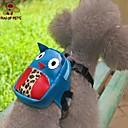 犬用品 バックパック ブルー 犬用ウェア 夏 漫画 キュート