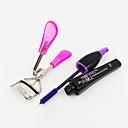 紫マスカラ+アイラッシュカーラー