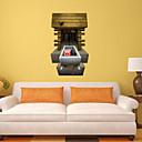 3d zidne naljepnice zidne naljepnice u stilu moj svijet orbita svinja pvc zidne naljepnice