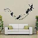 zid naljepnice zid naljepnice stil secord zvijezda pravih engleskih riječi&citati PVC zidne naljepnice