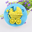 Teddy Bear košík fondant dort čokoládový silikonové formy, dekorace nástroje Pečení