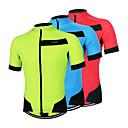 Arsuxeo® Biciklistička majica Muškarci Kratki rukav BiciklProzračnost / Quick dry / Anatomski dizajn / Prednji Zipper / Lagani materijali