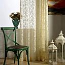 Zemlja curtains® jedan panel cvjetni jacquard obična zavjese ogrnuti