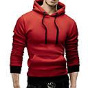 Neformalan Puloveri i majice s kapuljačom - MEN - Hoodie - Dugi rukav ( Pamuk )