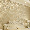 Květinový Tapety pro domácnost klasické Wall Krycí , Netkaný papír Materiál lepidlo požadováno tapeta , pokoj tapeta