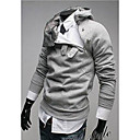 Men's Hoodie Sweats & Hoodies , Cotton / Cotton Blend Long Sleeve Casual Fashion Winter YTFT