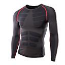 Ležérní kulatý tvar - Dlouhé rukávy - MEN - T-Shirts ( Bavlna / Směs bavlny )