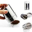 チョコレートパウダーココア粉シェーカーアイシング砂糖カプチーノコーヒーふるいボトル