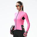 SANTIC® Biciklistička majica Žene Dugi rukav Bicikl Prozračnost / Quick dry / Ultraviolet Resistant Biciklistička majica / Majice Terilen