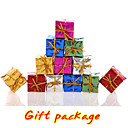 12PC / set šarene jelka poklon kutija dekoracija vjenčanja odmor opskrbu strana visi Božić ukrašavanje miješana boja