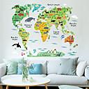 Zvířata / Komiks / Krajina Samolepky na zeď Samolepky na stěnu , PVC 60*90 cm (23.6*35.4 inch)
